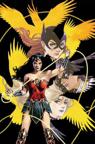 Batgirl and The Birds of Prey #15 (Variant Cover)