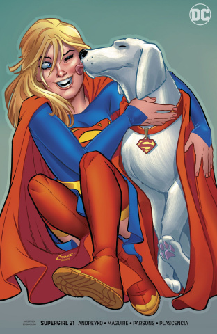 Supergirl #21 (Variant Cover)