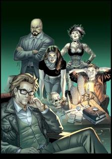 Spirit Hunters #2 (Ortiz Cover)
