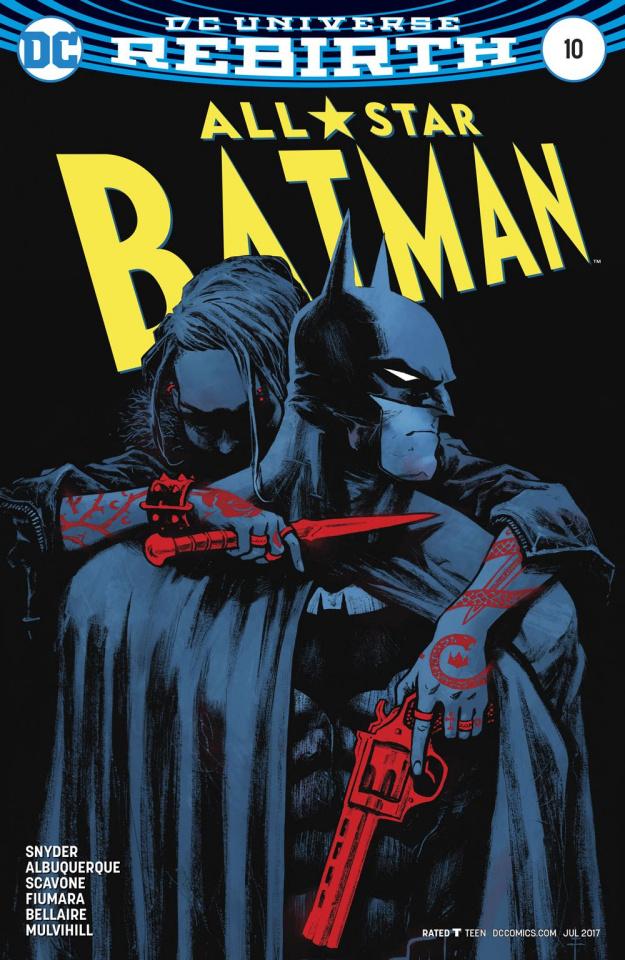 All-Star Batman #10 (Fiumara Cover)