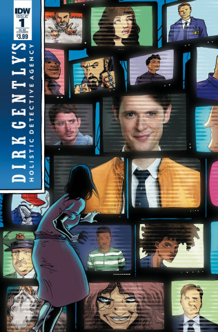 Dirk Gently's Holistic Detective Agency: The Salmon of Doubt #1 (Subscription Cover)