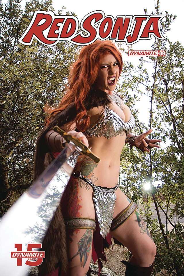 Red Sonja #9 (Cosplay Cover)