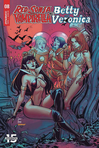 Red Sonja and Vampirella Meet Betty and Veronica #8 (Braga Cover)