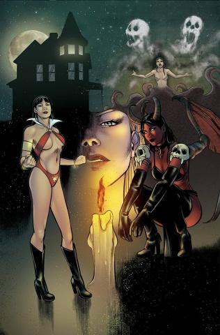 Vampirella vs. Purgatori #1 (7 Copy Sarraseca Virgin Cover)