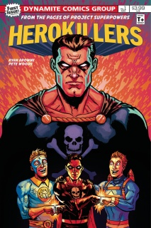 Project Superpowers: Hero Killers #1 (Browne Cover)