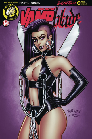 Vampblade, Season Three #2 (McKay Cover)