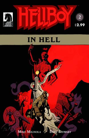 Hellboy in Hell #2 (2nd Printing)