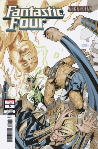 Fantastic Four #9 (Dodson Asgardian Cover)