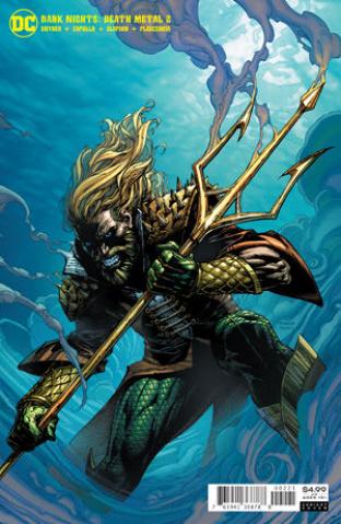 Dark Nights: Death Metal #2 (David Finch Aquaman Cover)