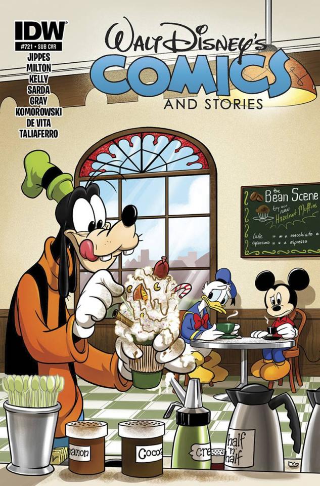 Walt Disney's Comics and Stories #721 (Subscription Cover)