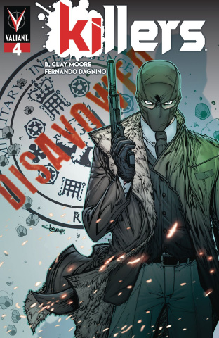 Killers #4 (Meyers Cover)