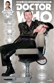 Doctor Who: New Adventures with the Ninth Doctor #14 (Myers Cover)