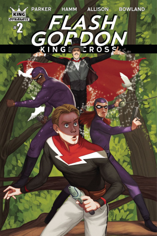 Flash Gordon: Kings Cross #2 (Margarida Cover)