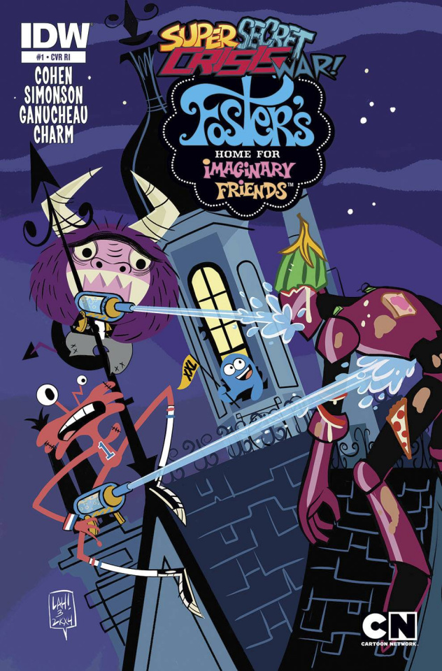Foster's Home For Imaginary Friends #1 (10 Copy Cover)