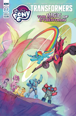 My Little Pony / The Transformers II #2 (Bethany McGuire-Smith Cover)
