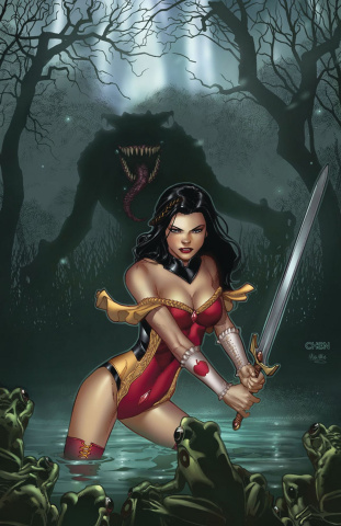 Grimm Fairy Tales #4 (Chen Cover)