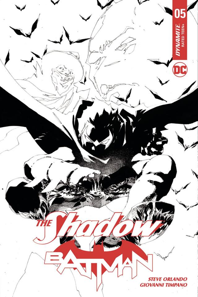 The Shadow / Batman #5 (20 Copy Tan Cover)