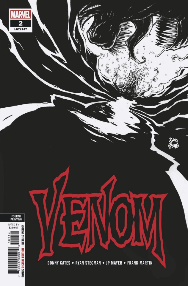 Venom #2 (Stegman 4th Prinitng)