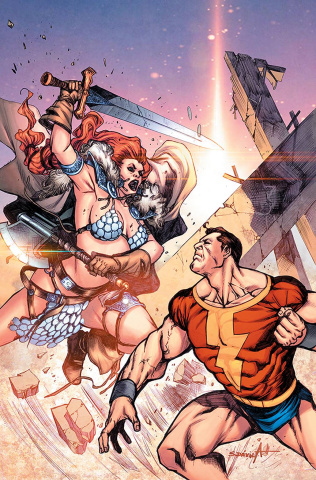 Red Sonja: The Superpowers #2 (25 Copy Davila Virgin Cover)