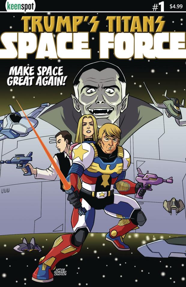 Trump's Titans: Space Force #1