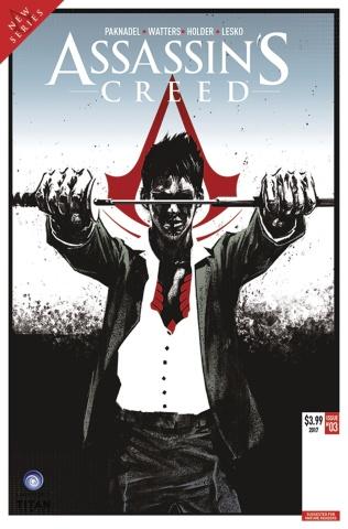 Assassin's Creed: Uprising #3 (Olimpieri Cover)