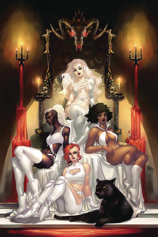 Sacred Six #2 (20 Copy Hetrick Virgin Cover)