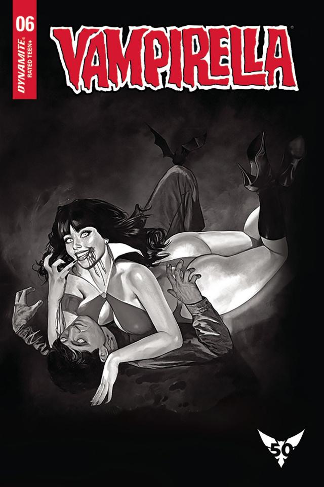 Vampirella #6 (20 Copy Dalton B&W Cover)