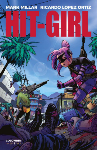 Hit-Girl #2 (Reeder Cover)