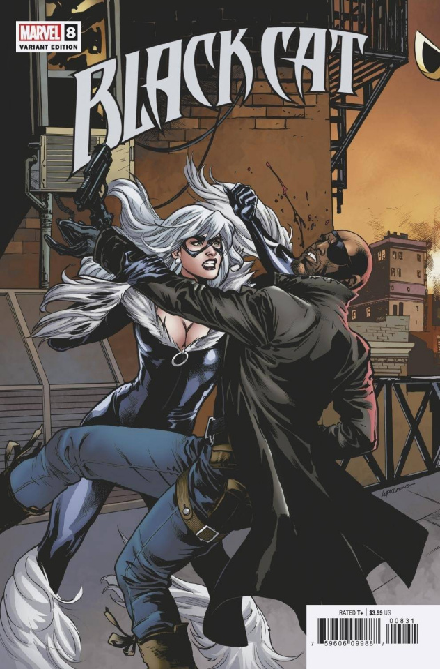 Black Cat #8 (Lupacchino Connecting Cover)
