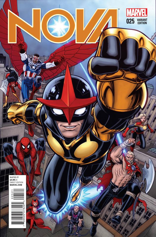 Nova #25 (Adams Cover)