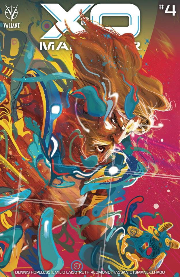 X-O Manowar #4 (Ward Cover)