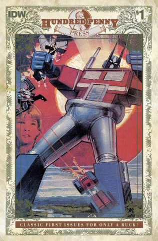 The Transformers 1984 #1 (100 Penny Press)