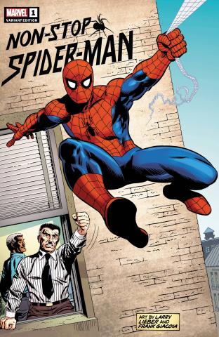 Non-Stop Spider-Man #1 (Lieber Hidden Gem Cover)