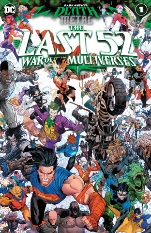 Dark Nights: Death Metal - The Last 52, War of the Multiverses #1 (Dan Mora Cover)