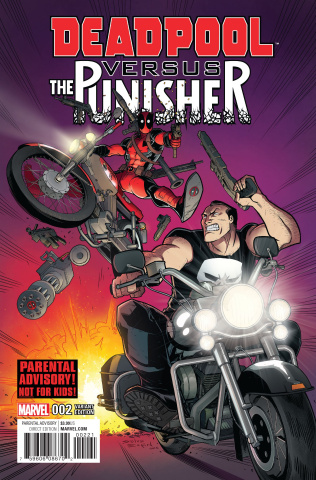 Deadpool vs. The Punisher #2 (Espin Cover)