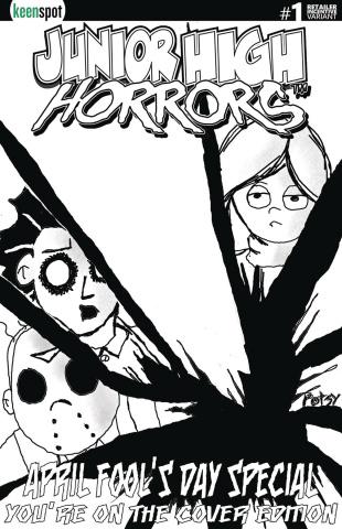 Junior High Horrors April Fools Special #1 (5 Copy Cover)