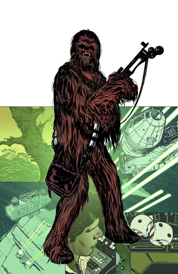 Star Wars: Rebel Heist #3 (Hughes Cover)