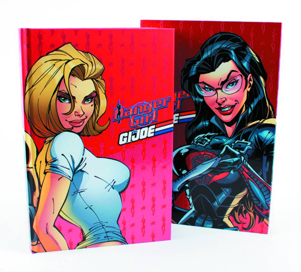 Danger Girl / G.I. Joe: Red Label Edition