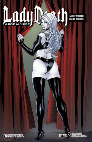 Lady Death: Apocalypse #2 (CGC Numbered Cover)