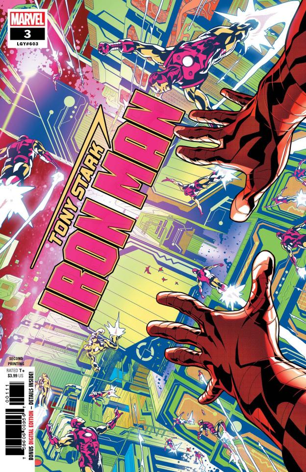 Tony Stark: Iron Man #3 (Schiti 2nd Printing)
