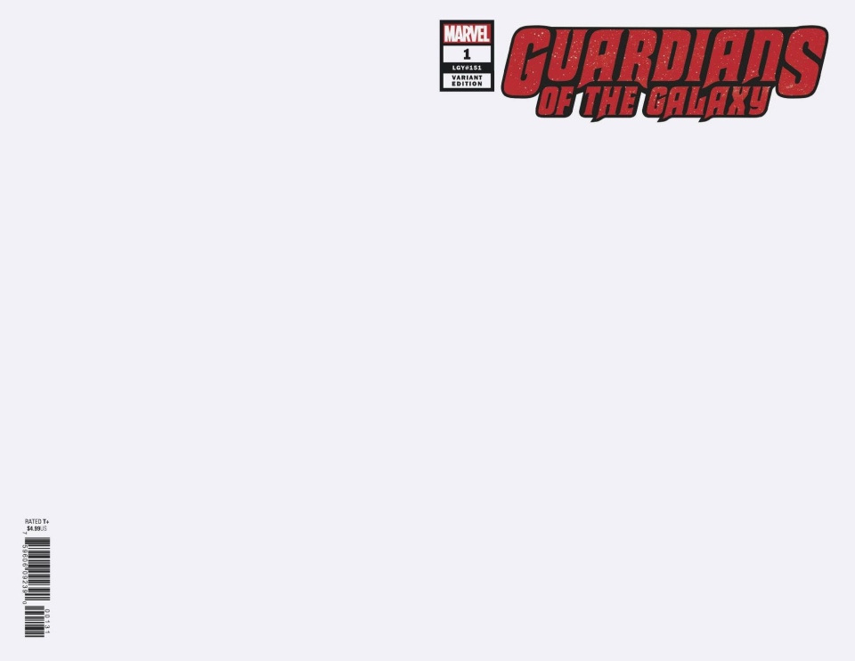 Guardians of the Galaxy #1 (Blank Cover)