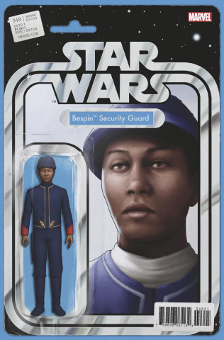 Star Wars #48 (Christopher Action Figure Cover)