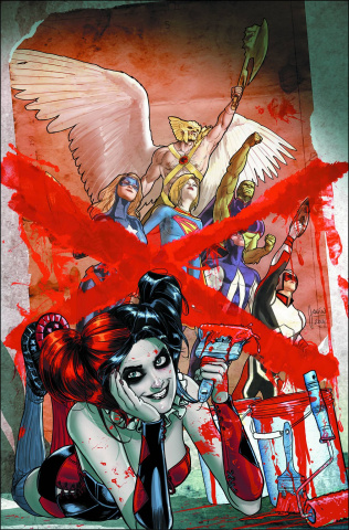 Justice League United #9 (Harley Quinn Cover)