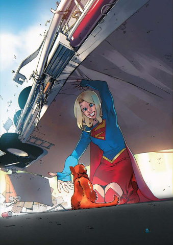 Supergirl #4 (Variant Cover)