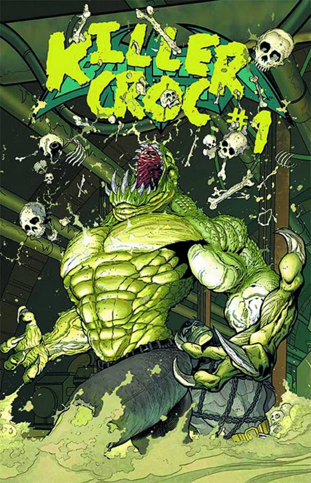 Batman and Robin #23.4: Killer Croc Standard Edition