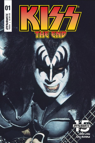 KISS: The End #1 (Photo Cover)