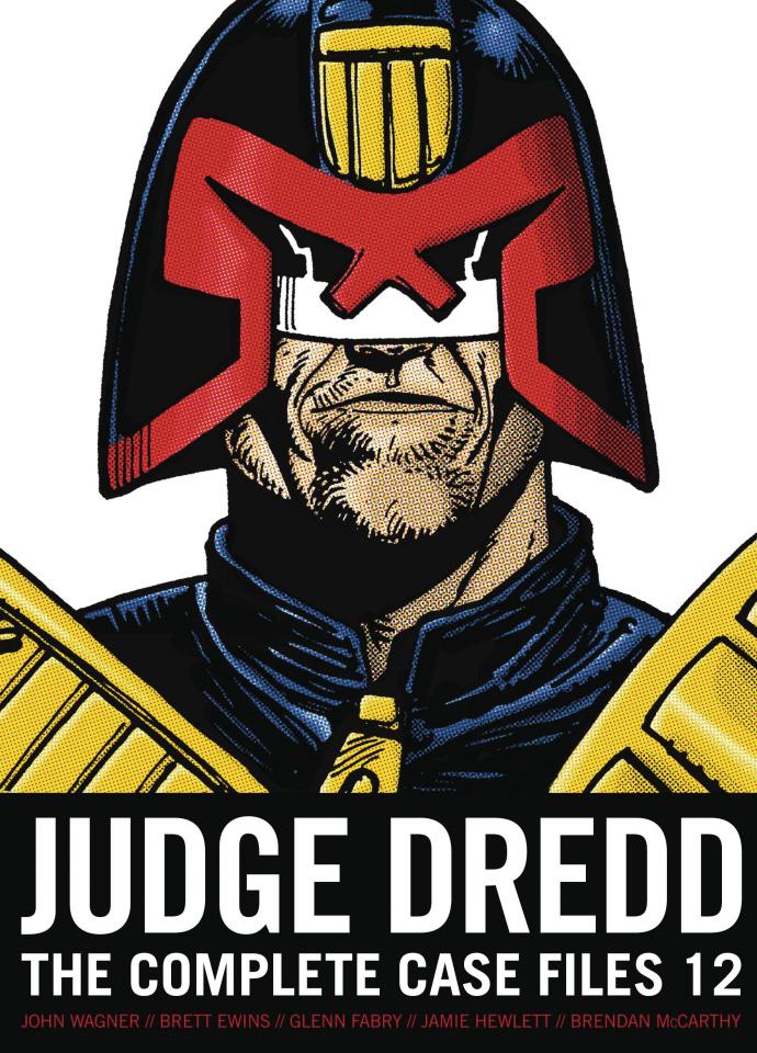 Judge Dredd: The Complete Case Files Vol. 12