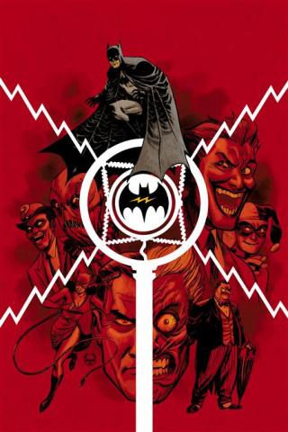Batman: The Audio Adventures #1 (Dave Johnson Cover)