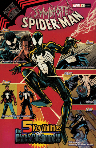 Symbiote Spider-Man: King in Black #1 (Superlog Cover)