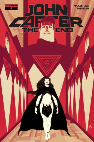 John Carter: The End #2 (Doe Cover)